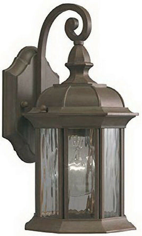 Kichler Lighting 39210 Bellwood Collection One Light Exterior Wall Lantern in Olde Brick Finish
