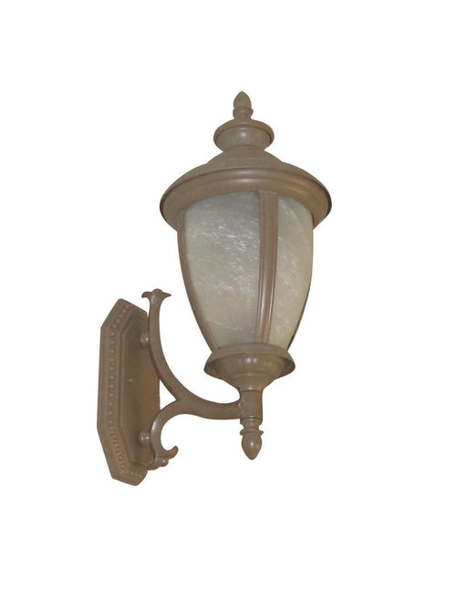 Adjustapost Lighting APX-C39SA-AC One Light Exterior Outdoor Wall Lantern in Antique Copper Finish