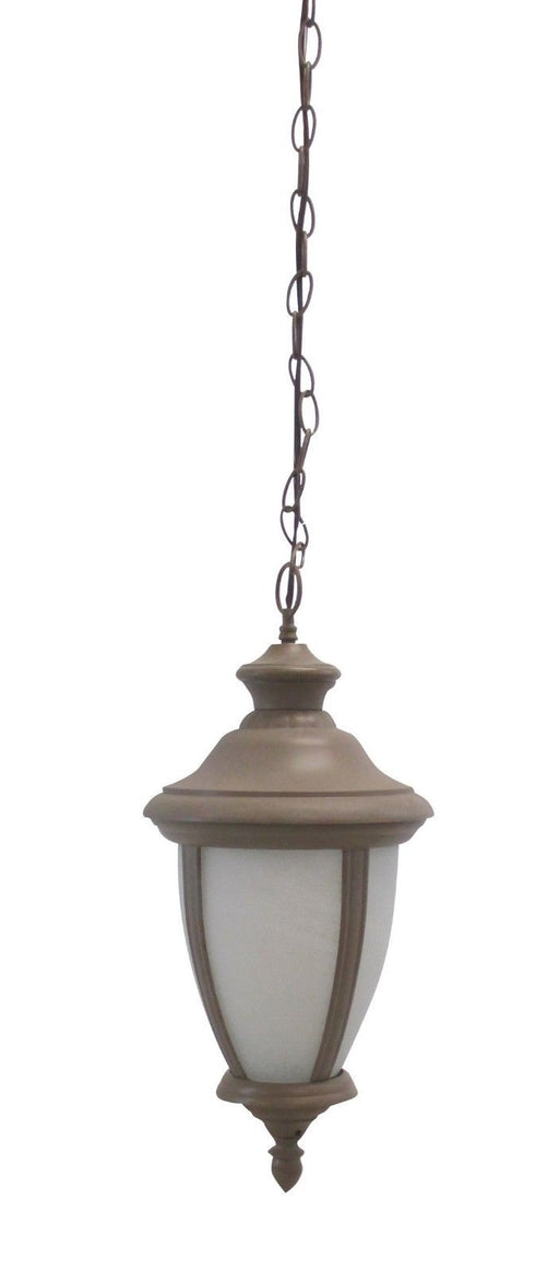 Adjustapost Lighting APX-C39HA-AC One Light Exterior Outdoor Hanging Pendant in Antique Copper Finish