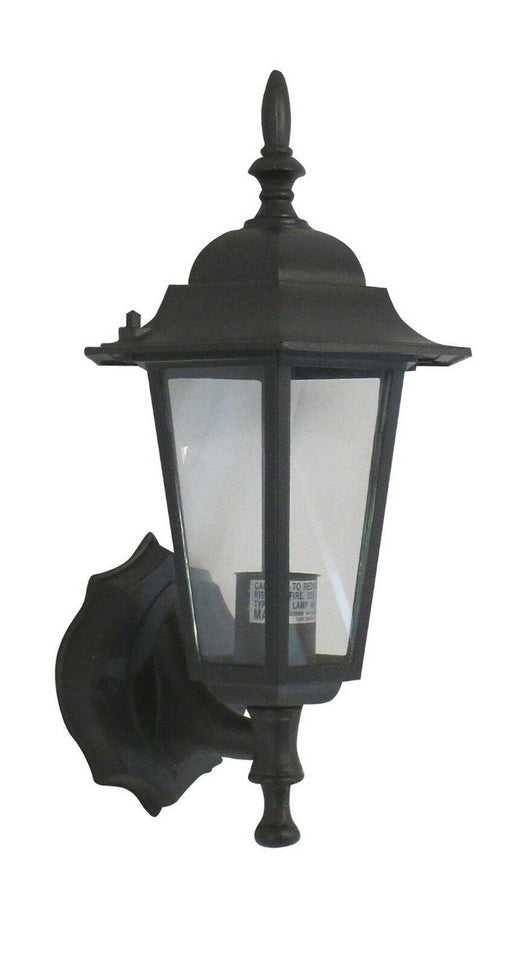 Rainbow EVER 4026 BLK One Light Exterior Wall Lantern in Black Finish