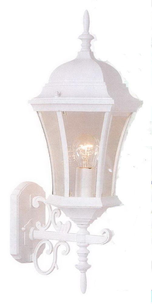 Copy of Rainbow ADJ APX-C43SC-WH One Light Exterior Outdoor Wall Lantern in White Finish
