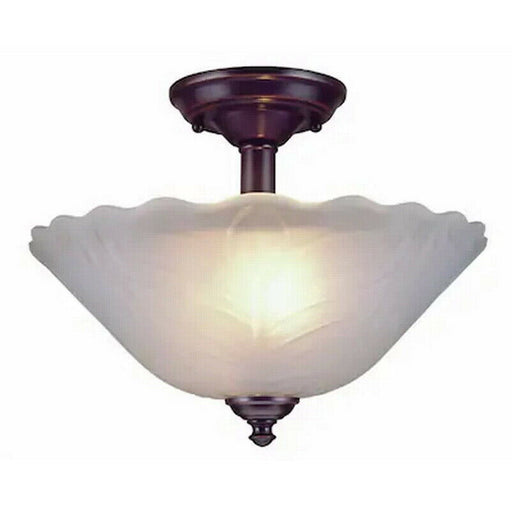 Trans Globe Lighting 45286 Semi Flush Ceiling Mount in Oil Rubbed Bronze Finish