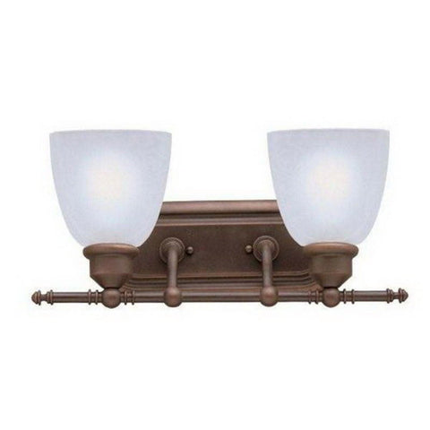 Kichler Lighting 4535 OB Two Light Loft Collection Bath Vanity Sconce in Olde Bronze Finish - Quality Discount Lighting