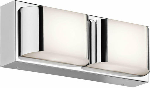 Kichler Lighting 45820CHLED Nita Collection LED Bath Vanity Wall Mount in Polished Chrome Finish
