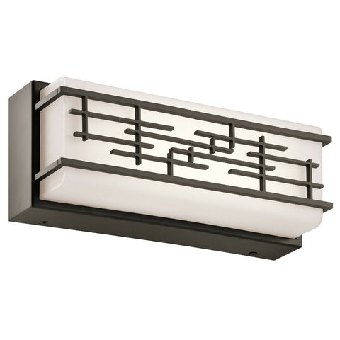 Kichler Lighting 45828OZLED Zolon Collection LED Bath Vanity Wall Mount in Olde Bronze Finish