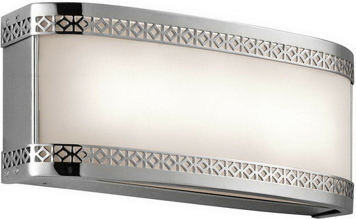 Kichler Lighting 45851CHLED Contessa Collection 2 Light LED Bath Vanity Wall Mount in Polished Chrome Finish