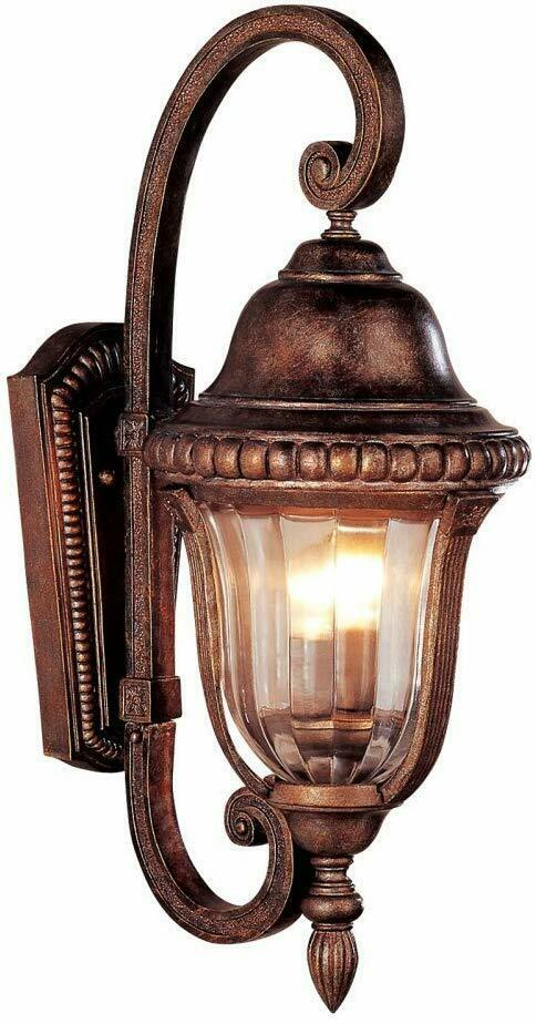 Trans Globe Lighting 4922 ABZ-251409 Two Light Exterior Outdoor Wall Mount Lantern in Antique Bronze Finish