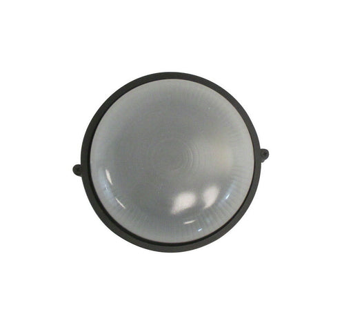 Rainbow EVER 5005 BK One Light Exterior Outdoor Bulkhead in Black Finish