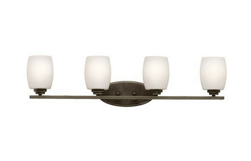 Kichler Lighting 5099 OZ Four Light Bath Vanity Wall Mount in Olde Bronze Finish
