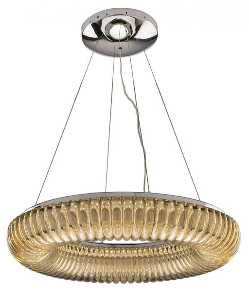 Nuvo Lighting Geocentric 62-261 Two Seventy Series Hanging Suspended Circular LED Luminaire in Polished Chrome Finish - Discount Lighting Fixtures