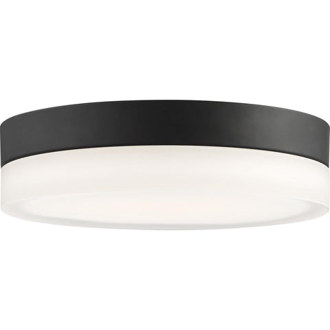 Pi Flush Model #450 LED Eleven Inch Flush Ceiling Mount in Black or Brushed Nickel Finish