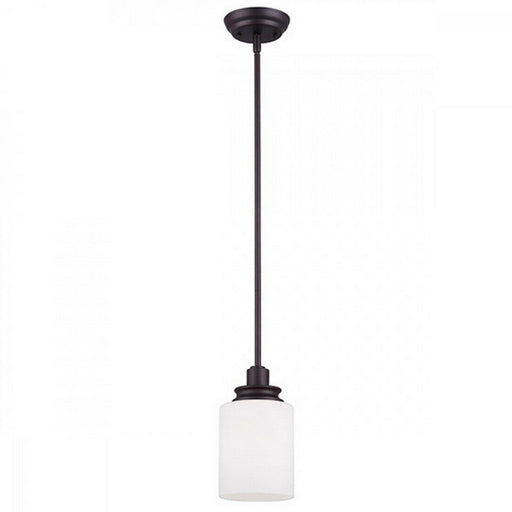Rainbow Lighting 625A01ORB One Light Hanging Mini Pendant in Oil Rubbed Bronze Finish