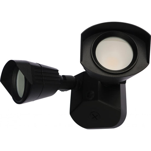 Security Model #220 LED Dual Head Energy Star LED Flood Light in Black Finish