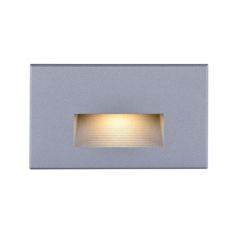Horizontal Step Light #400 Series Available in Gray, Bronze or White Finish