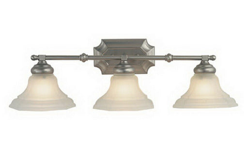 Trans Globe Lighting CB6683 BN Three Light Bath Vanity Wall Mount in Brushed Nickel Finish