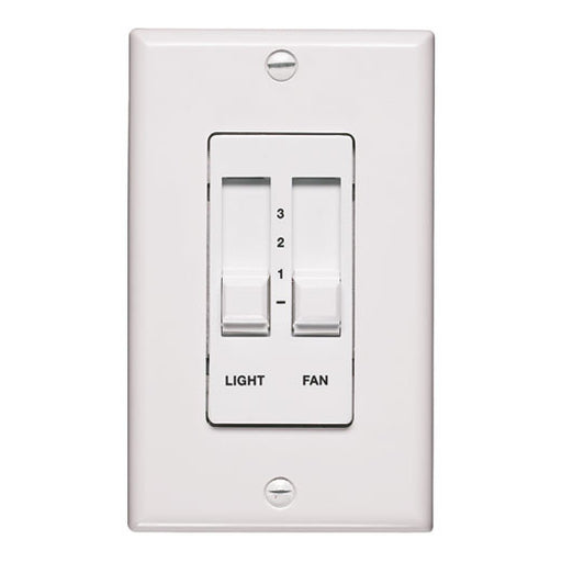 Quorum International 7-1192-6 Fan Wall Control Switch in White Finish - Quality Discount Lighting