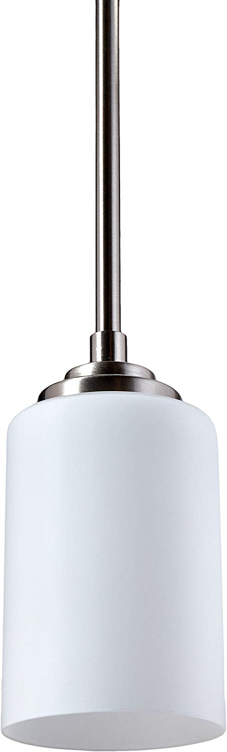 Trans Globe Lighting 70520-BN Mod Space Collection One Light Mini Pendant in Brushed Nickel Finish