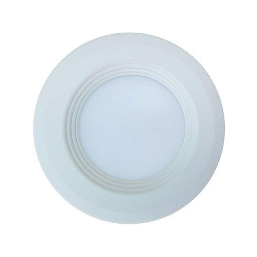 Utilitech 754248 Four Inch Integrated Remodel LED Recessed Light Kit in White Finish - 4 Pak