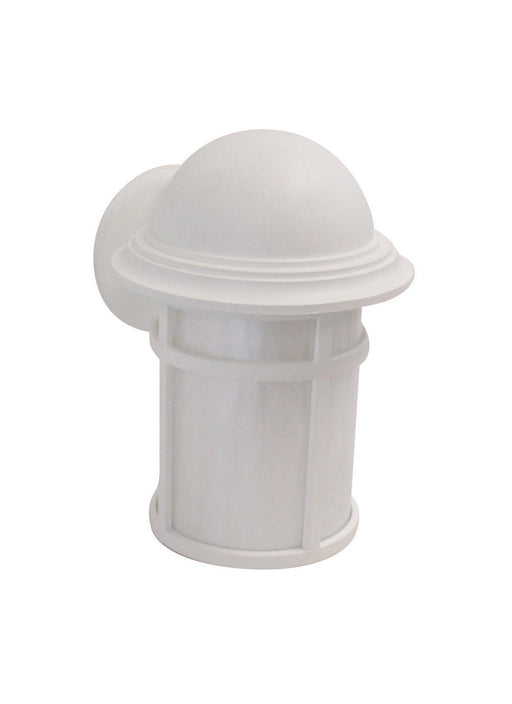 Adjustapost DLX81461 WH One Light Exterior Outdoor Wall Lantern in White Finish