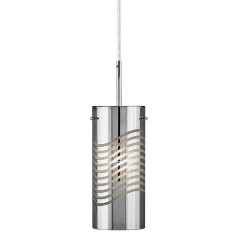 Elan by Kichler Lighting 83158 Huia Collection LED Hanging Mini Pendant in Polished Chrome Finish