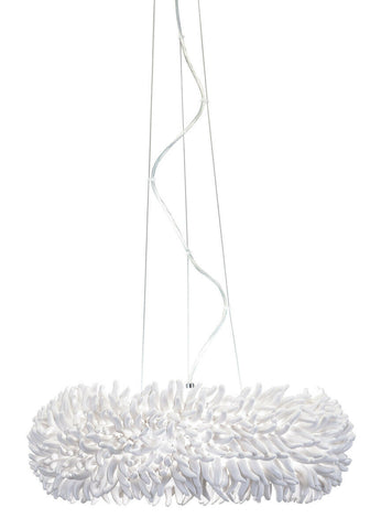 Elan by Kichler Lighting 83463 Anemone Collection LED Hanging Pendant Chandelier in Polished Chrome Finish