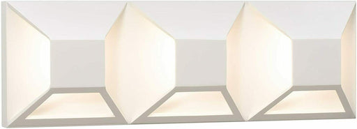 Elan by Kichler Lighting 83521 Copan Collection LED Bath Vanity Wall Light in Matte White Finish