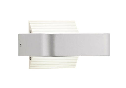Elan by Kichler Lighting 83541 Berr Collection LED Exterior Outdoor Wall Sconce in Painted Platinum Finish