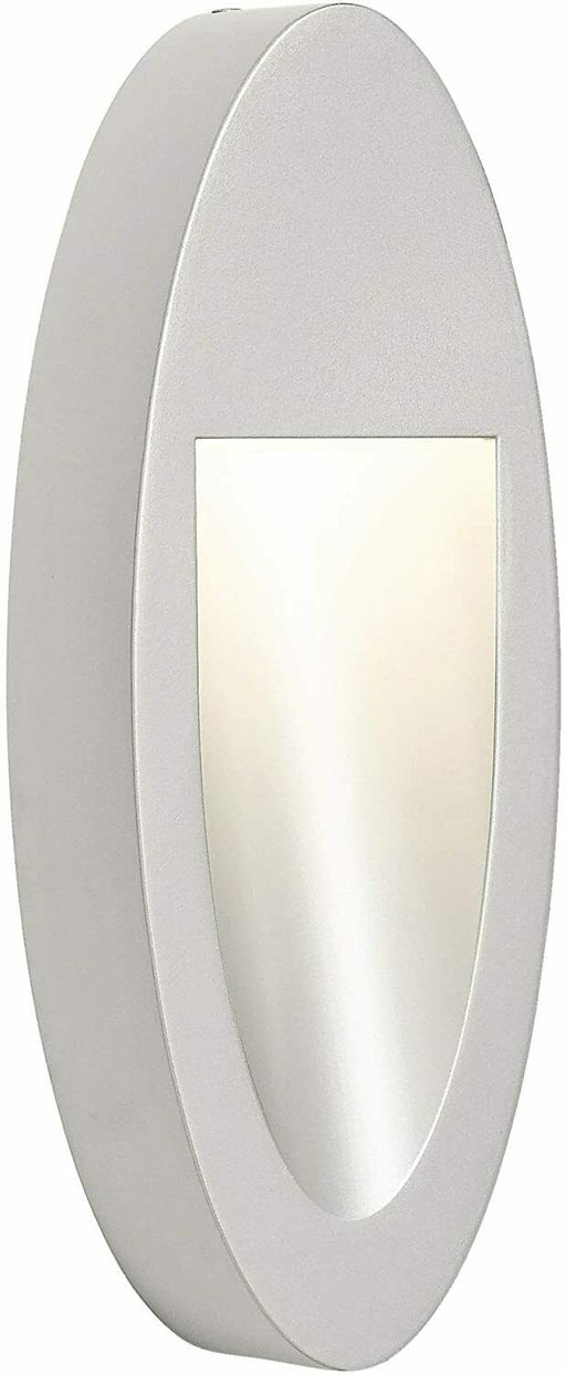 Elan by Kichler Lighting 83551 Soku Collection LED Wall Sconce in Painted Platinum Finish