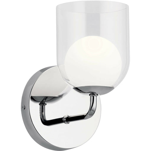 Kichler Lighting 84057 Beryl Collection One Light Wall Sconce in Polished Chrome Finish