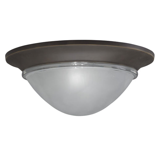 Aztec 86628 by Kichler Lighting Two Light Flush Ceiling Mount in Olde Bronze Finish