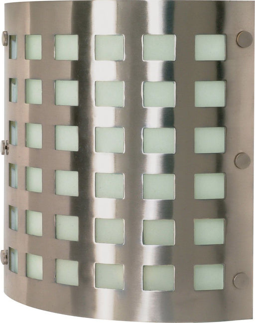 Nuvo Lighting 60-940 Two Light Energy Star Rated GU24 Fluorescent Wall Sconce in Brushed Nickel Finish