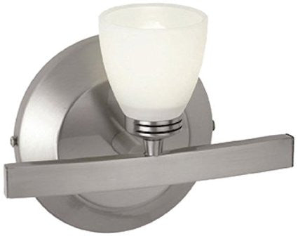 Access Lighting 63811 MC OPL Sydney Collection One Light Wall Sconce in Matte Chrome Finish - Quality Discount Lighting