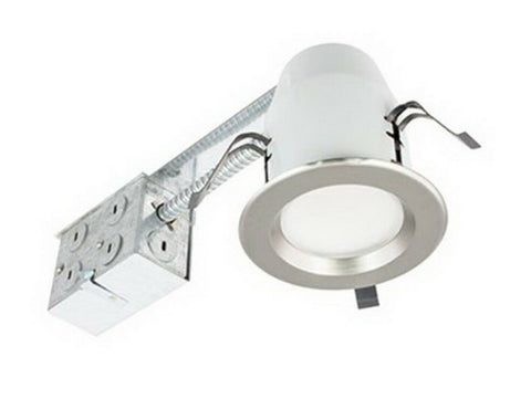 American Lighting E3S RE-30-NK LED 3 Inch 3000k Warm White Module with Nickel Swivel Trim - 6 Pack