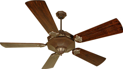 Craftmade BE60AGVM-B552P-WB6 Beaumont Model Ceiling Fan in Aged Bronze Vintage Madera Finish - Quality Discount Lighting