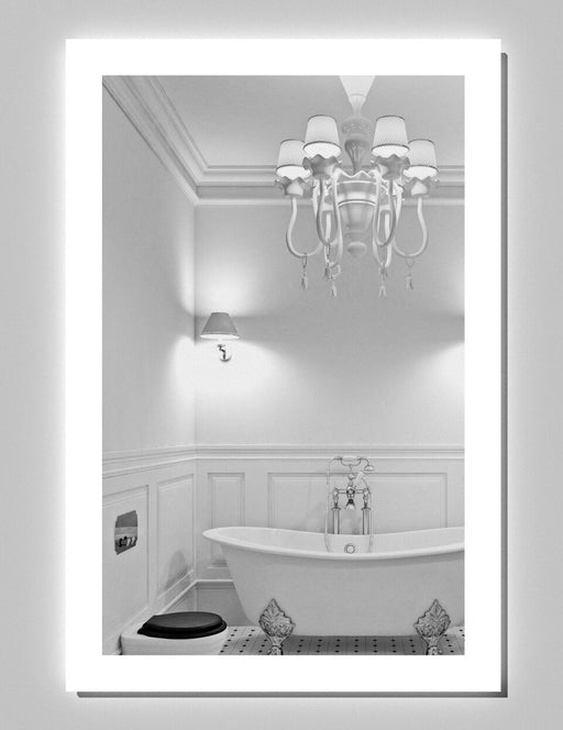 Civis USA Angel Collection CVAN2024LED Rectangle 20 x 24 Lighted Mirror