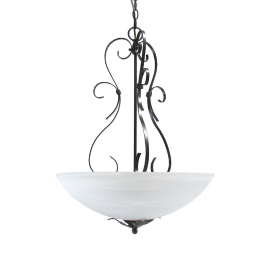 Designers Fountain Lighting 9162 ORB Chateau Collection Three Light Hanging Pendant Chandelier in Oil Rubbed Bronze Finish - Quality Discount Lighting