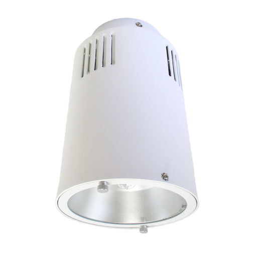 Epiphany Lighting EB634 WH 70 Watt Metal Halide Exterior Ceiling Fixture in White Finish - Quality Discount Lighting