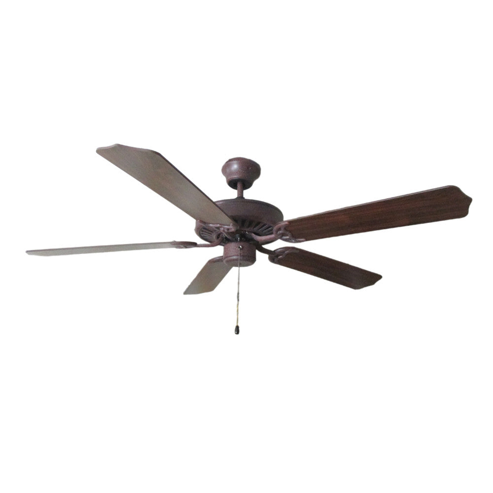 Craftmade Ellington ELN52CS5 Ellington Collection Ceiling Fan In  Copperstone Finish   Quality Discount Lighting