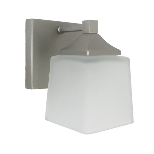 Epiphany Lighting 103290 BN One Light Contemporary Wall Sconce in Brushed Nickel Finish - Quality Discount Lighting