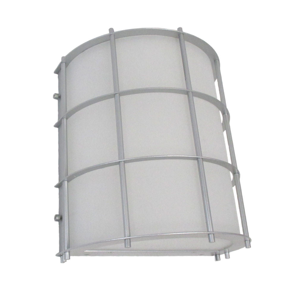 Epiphany Lighting 103513 BN - EB138-13 One Light Energy Efficient Fluorescent Indoor Outdoor Wall Mount in Brushed Nickel Finish