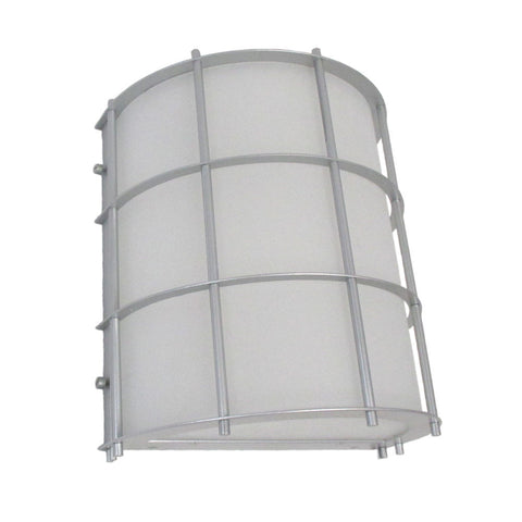 Epiphany Lighting 103513 BN - EB138-13 One Light Energy Efficient Fluorescent Indoor Outdoor Wall Mount in Brushed Nickel Finish - Quality Discount Lighting