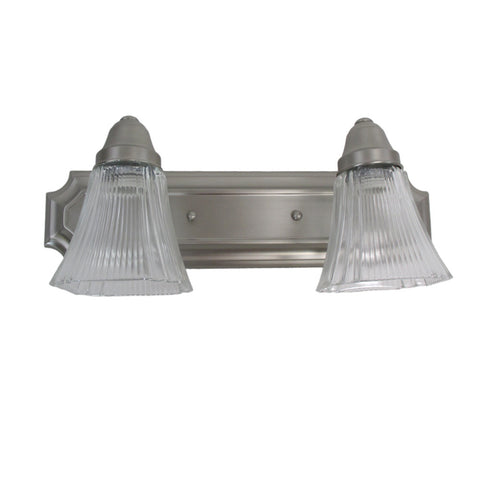 Epiphany Lighting 103282 BN Two Light Bath Wall Light in Brushed Nickel Finish - Quality Discount Lighting