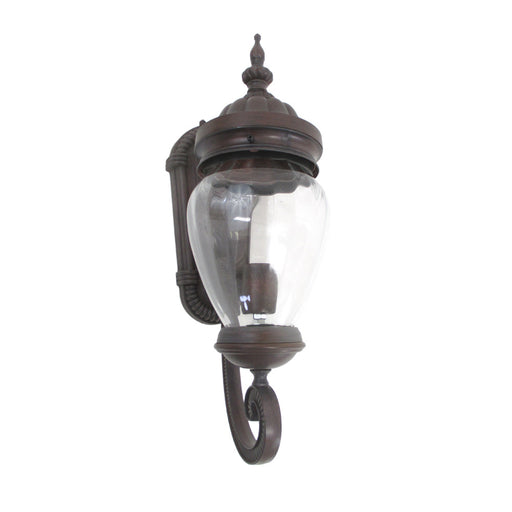 Epiphany Lighting 104970 VB One Light Cast Aluminum Outdoor Exterior Wall Lantern in Venetian Bronze Finish - Discount Lighting Fixtures