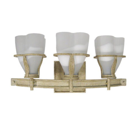 Forecast Lighting F4620-42 Lita Collection Three Light Bath Wall in Zuma Sand Finish - Quality Discount Lighting