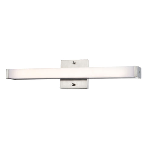 Sunpark FL0324D-VT-3000K-62 Vanity Bath Fixture in Satin Nickel Finish