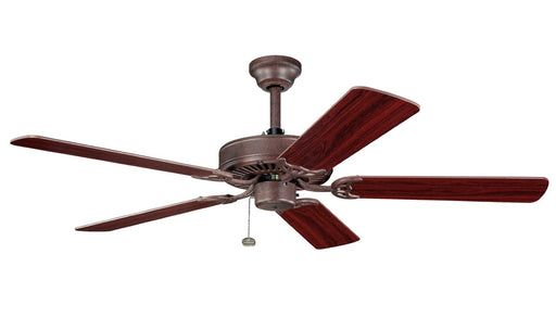 Kichler Lighting 339010TZ Sterling Manor Energy Star Ceiling Fan in Tannery Bronze Finish - Quality Discount Lighting