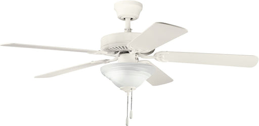 Kichler Lighting 339220SNW Sterling Manor Select Energy Star Ceiling Fan in Satin Natural White Finish - Quality Discount Lighting