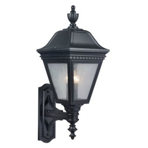 Outdoor wall lighting quality discount lighting kichler lighting 9071 gnt tolland country collection three light exterior outdoor wall lantern in textured granite aloadofball Image collections