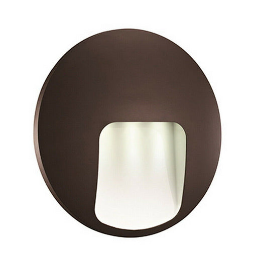 Trans Globe Lighting LED-40980 BZ Oasis Collection LED Exterior Wall Pocket Lantern in Bronze Finish