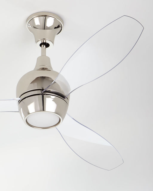 "Bordeaux 52"" Ceiling Fan Available in 3 Finish Options with  Acrylic Blades"